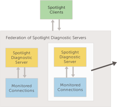 Remove a Spotlight Diagnostic Server from the federation